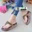 รองเท้าพื้นโซฟาเพชรสวารอฟสกี้ 999-658-ตาล [สีตาล] thumbnail 2
