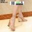 รองเท้าส้นแท่งหุ้มท้าย ST85111-GLD [สีทอง] thumbnail 3