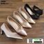 รองเท้าคัชชูส้นสูง TM2384-PKG [สีทองชมพู] thumbnail 3
