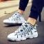 รองเท้าผ้าใบ PU ทรง SPORT-blue A-11 [สีน้ำเงิน] thumbnail 1