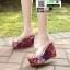 รองเท้าแบบสวมส้นเตารีด ST5117-SIL [สีSIL] thumbnail 2