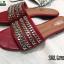 รองเท้าแตะ สไตล์ Givenchy SS02-RED [สีแดง] thumbnail 2