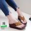 รองเท้าเพื่อสุขภาพฟิทฟลอบ YT123-น้ำตาล [สีน้ำตาล ] thumbnail 2