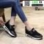 รองเท้าผ้าใบเสริมส้น งานนำเข้า100% ST3-BLK [สีดำ] thumbnail 2