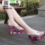 รองเท้าแบบสวมส้นเตารีด ST5117-SIL [สีSIL] thumbnail 3
