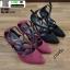 รองเท้าคัชชูรัดข้อส้นเข็ม ST1860-BLK [สีดำ] thumbnail 5