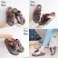 รองเท้าสุขภาพพื้นนิ่มใส่สบาย F1115-BRN [สีน้ำตาล] thumbnail 3
