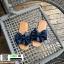 รองเท้าแตะผ้าซาติน แต่งโบว์ G-1409-BLU [สีน้ำเงิน] thumbnail 2