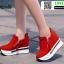 รองเท้าผ้าใบเสริมส้น ST014-RED [สีแดง] thumbnail 4