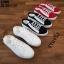 รองเท้าผ้าใบแฟชั่นเปิดท้าย ST509-BLK [สีดำ] thumbnail 4