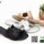 รองเท้าแตะส้นเตี้ย SB07-28-BLK [สีดำ] thumbnail 2