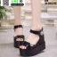 รองเท้าทรงเตารีดแบบรัดข้อ ST9-BLK [สีดำ] thumbnail 1