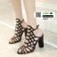 รองเท้าส้นสูง สไตล์แบรนด์ SCHUZ 915-1-BLACK [สีดำ ] thumbnail 2