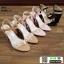 รองเท้าส้นแท่งหุ้มข้อเปิดส้น 1812-5-BLK [สีดำ] thumbnail 5