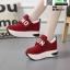 รองเท้าผ้าใบเสริมส้น งานนำเข้า100% ST09-RED [สีแดง] thumbnail 3