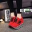 รองเท้าผ้าใบเสริมส้นสไตล์เกาหลี IH SB1084-RED [สีแดง] thumbnail 2