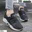รองเท้าผ้าใบแบบสวม L09-BLK [สีดำ] thumbnail 4