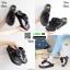 รองเท้าสุขภาพพื้นนิ่มใส่สบาย F1115-BLK [สีดำ] thumbnail 5