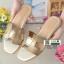 รองเท้าแตะหน้า H J332-GOLD [สีทอง] thumbnail 3