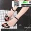 รองเท้าส้นเหลี่ยมรัดข้อ 17-2310-BLK [สีดำ] thumbnail 5