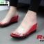 รองเท้าลำลองแบบสวมส้นเตารีด 957-83-RED [สีแดง] thumbnail 1