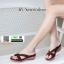 รองเท้าแตะลำลอง วัสดุหนัง PU PF2252-BWN [สีน้ำตาล] thumbnail 1