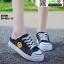 รองเท้าผ้าใบสวมเปิดท้าย ST2991-BLK [สีดำ] thumbnail 3