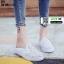 รองเท้าผ้าใบแบบเปิดส้น ST1-WHI [สีขาว] thumbnail 2