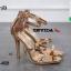 รองเท้าส้นสูงรัดข้อเปิดหน้า 18-4528-PKG [สีชมพู] thumbnail 4