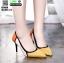 รองเท้าคัชชูส้นเข็ม ST8858-YEL [สีเหลือง] thumbnail 1