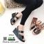 รองเท้าส้นเตารีดรัดข้อ หนังเงา 7797-4-ดำ [สีดำ] thumbnail 5