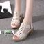 รองเท้าส้นสูงนำเข้า งานคุณภาพเหมือนแบบ 1089-ครีม [สีครีม] thumbnail 3