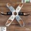 รองเท้าแบบสวม วัสดุผ้าด้านหน้า 345-213-CRM [สีครีม] thumbnail 4