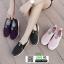 รองเท้าผ้าใบเพื่อสุขภาพ 605-BLK [สีดำ] thumbnail 5