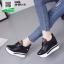 รองเท้าผ้าใบเสริมส้น ST526-BLK [สีดำ] thumbnail 2