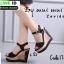 รองเท้าส้นเตารีดรัดส้น 17-5154-BLK [สีดำ] thumbnail 1