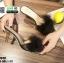 รองเท้าส้นสูงแบบสวมขนเฟอร์ ST6191-BLK [สีดำ] thumbnail 4