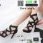 รองเท้าส้นสูงหุ้มข้อ วัสดุผ้านุ่ม 17-2317-BLK [สีดำ] thumbnail 3