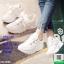 ผ้าใบสไตล์เกาหลีสายริปบิ้นโบว์ L26-WHI [สีขาว] thumbnail 2