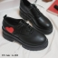 รองเท้าคัทชูเสริมส้นสีดำ little heart (สีดำ ) thumbnail 3