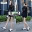 รองเท้าคัทชู สไตล์ชาแนล 7025-1-WHITE [สีขาว] thumbnail 2