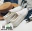 รองเท้าผ้าใบส้นเสมอ เย็บเกล็ดปลา G-1316-WHI [สีขาว] thumbnail 5