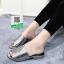 รองเท้าแตะเปิดส้นสีดำ สไตล์ซาร่า (สีดำ ) thumbnail 2