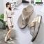 รองเท้าสุขภาพแบบใหม่เทรนด์เกาหลี 992-12-GLD [สีทอง] thumbnail 3