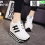 รองเท้าผ้าใบเสริมส้น ST8029-WHI [สีขาว] thumbnail 3