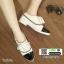 รองเท้าคัทชู สไตล์ชาแนล 7025-1-WHITE [สีขาว] thumbnail 1