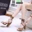 รองเท้าหุ้มท้ายส้นแท่ง ST8835-BRN [สีน้ำตาล] thumbnail 2