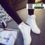 รองเท้าผ้าใบหุ้มข้อนำเข้า สไตล์เกาหลี YZB-059-WHI [สีขาว] thumbnail 2