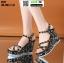 รองเท้าเปิดส้นรัดข้อส้นเตารีด ST11-BLK [สีดำ] thumbnail 3