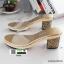 รองเท้าส้นสูงทรงสวยมากค่ะ 8416-GOLD [สีทอง] thumbnail 3